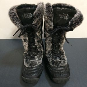 The North Face Nuptse Faux Fur Boots